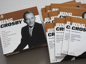Bing Crosby 10CD Box Set:Louise,Paradise,Star Dust,My Love,Blue Hawaii,Am.M.O.