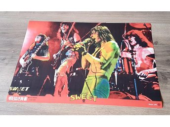 SWEET OFF THE RECORDS JAPAN POSTER GLOSSY PHOTOPAPER