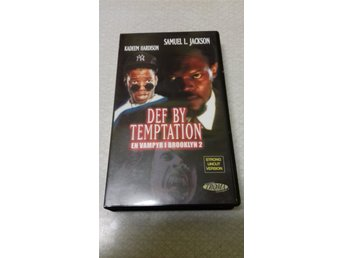DEF BY TEMPTATION. TROMA KÖP VHS