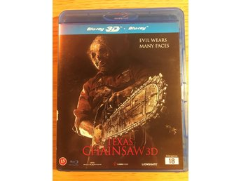 Blu-Ray 3D: Texas Chainsaw 3D