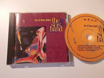THE S.O.S. BAND - One of many nights, CD Tabu 1991 USA