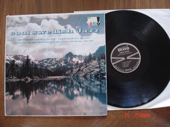 Cool Swedish Jazz, LP, Reinhold Svensson and His All Star Sextett
