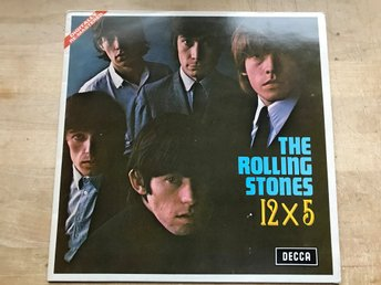 ROLLING STONES THE - 12 x5 LP 1964 DIGITALLY RE-MASTERED