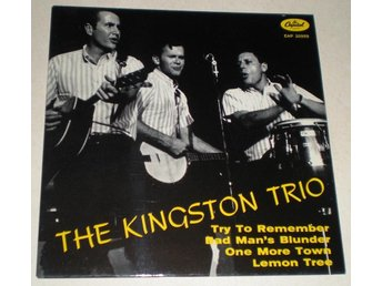 Kingston Trio OMSLAG EP Try to remember 1964 M-