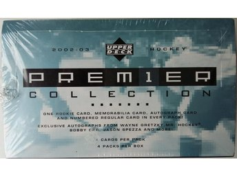 2002/2003 Upper Deck Hockey Premier Collection Hobby Box