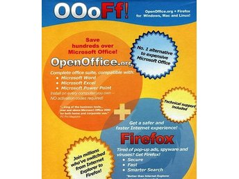 OOOFF! Open Office + Firefox / PC o Linux o MAC /NY <----