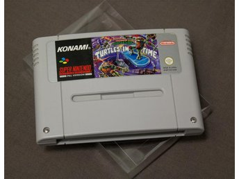 Teenage Mutant Hero Turtles IV - Turtles in Time SNES Super Nintendo Turtles 4