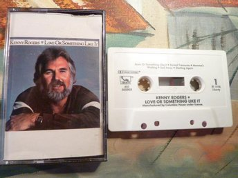 KENNY ROGERS, LOVE OR SOMETHING LIKE IT, 1978, KASSETT, KASSETTBAND