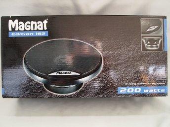 Magnat Edition 162 2-vägs koaxialhögtalare 50/200 W 1 par - Skivarp - Magnat Edition 162 2-vägs koaxialhögtalare 50/200 W 1 par - Skivarp
