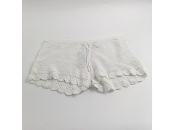 H&M Consious Collection, Shorts, Strl: 40, Vit
