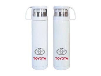 Toyota termos i rostfritt stål, Toyota kaffetermos med mugg - Karlskrona - Toyota termos i rostfritt stål, Toyota kaffetermos med mugg - Karlskrona