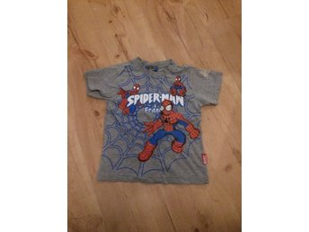 Spiderman t-shirt stl 86/92