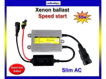 Xenon ballast 55w AC digital slim Fast Bright / Speed start HID drivdon