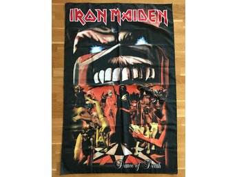 "Iron Maiden Flagga ""Dance of Death"" 140x90 cm"
