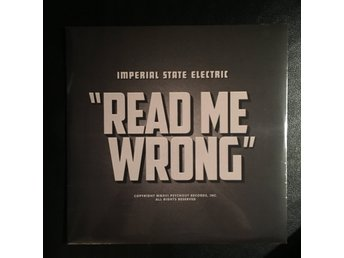 "Imperial State Electric - Read Me Wrong 12"" (Hellacopters, Datsuns, Turbonegro)"