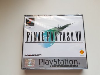 Oöppnad final fantasy 7 platinum