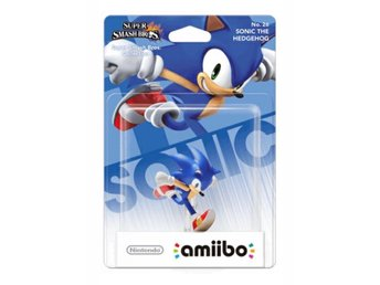 SONIC THE HEDGEHOG Super Smash Bros Amiibo NINTENDO