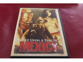 DVD-film: Once upon a time in Mexico (Antonio Banderas, Salma Hayek,Johnny Depp)