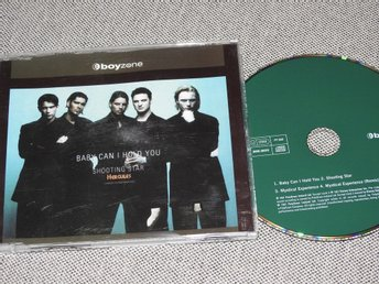 Boyzone - Baby Can I Hold You / Shooting Star CD Singel (slim case)