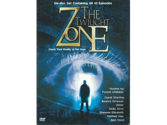 THE TWILIGH ZONET BOX-43 EPISODES-OBS REGION 1!ENGELSKT TEXT
