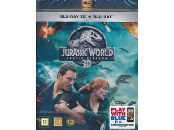 Jurassic World Fallen Kingdom 2018  3D 129 min  Blu-ray  Ny