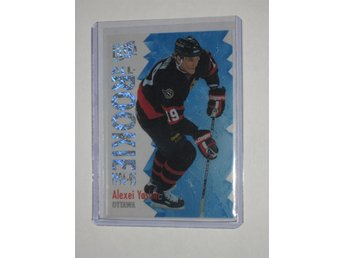 1994-95 Alexei Yashin #10 * All-Rookie * SPARKLING SILVER *Parallell Fleer Ultra
