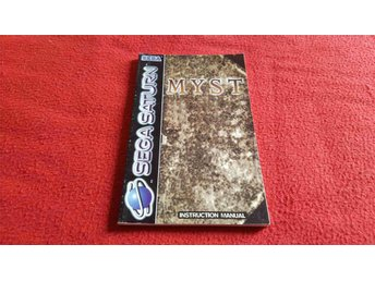 MYST MANUAL till Sega Saturn