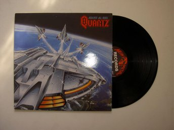 Quartz- Against all Odds UK Org Heavy Metal Records Top Copy 1983