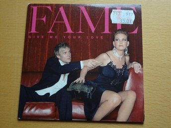 Fame Give me your love Melodifestivalen Eurovision 2003 CD Singel
