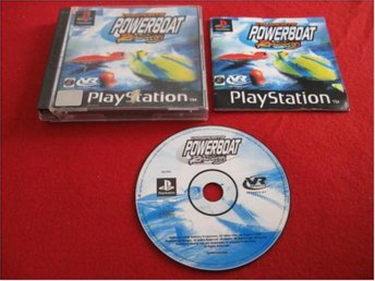 VR SPORTS POWERBOAT RACING till Sony Playstation PSone
