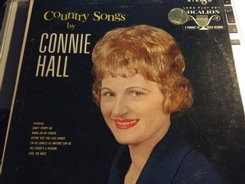 Connie Hall.      *Country Songs by Connie hall*    LP SKIVA   1965