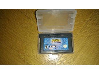 GBA / Gameboy Advance: Sonic Advance (endast kassett) - Stockholm - GBA / Gameboy Advance: Sonic Advance (endast kassett) - Stockholm