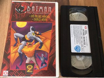 BATMAN  Del 2 the animated Series NORSK VHS