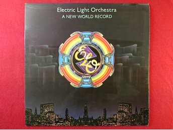 Electric Light Orchestra, A New Word Record, UAG 30017, från 1976.