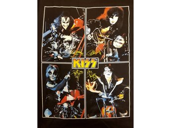 Kiss t-shirt Large