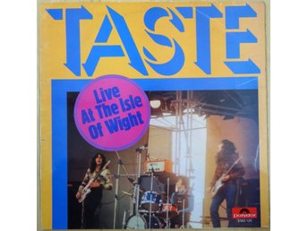 Taste-Live At The Isle Of Wight (Polydor 2383 120) 1971