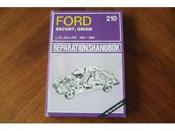Ford Escort Orion 1981-84  Reparationshandbok