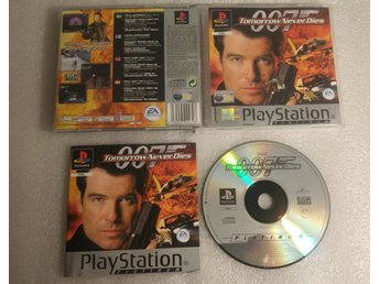007 Tomorrow Never Dies Till Playstation! Komplett! 1kr
