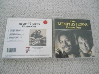 CD : THE MEMPHIS HORNS : FLAME OUT 1992