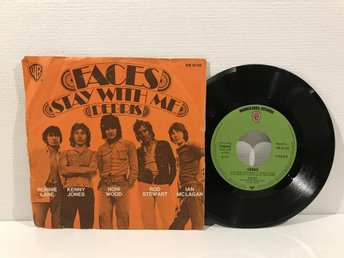 Faces - Stay With Me (WB 16 136) GERMANY RARE