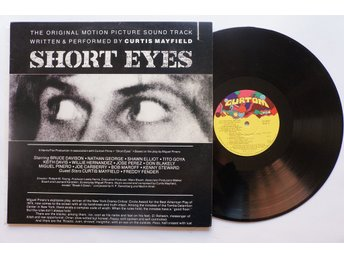 ** Curtis Mayfield ‎– Short Eyes - The Original Picture Soundtrack **