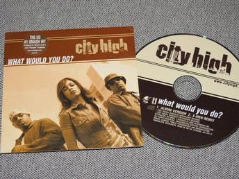 City High - What Would You Do? CD Singel (pappfodral)