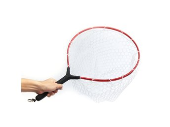 60*36cm Landing Fly Fishing Net Mesh Trout Bass Strong Fi...