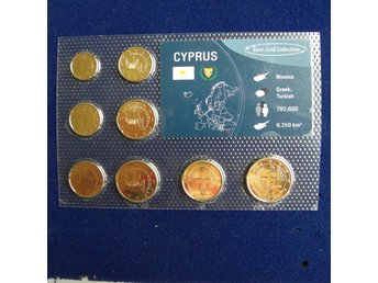 EURO GOLD COLLECTION. CYPRUS