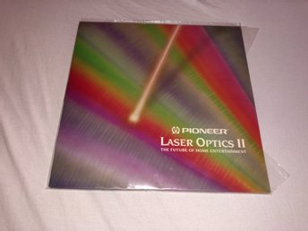 Pioneer Laser Optics II The future of home entertainment 1 test skiva Laserdisc