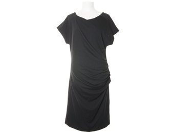 Friendtex, Klänning, Strl: XL, Dress with pleats, Svart