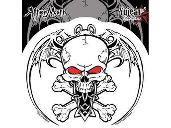 Aftermath Wingskull Sticker dekal