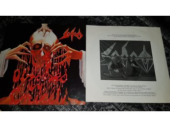 Sodom Obsessed by cruelty Promo Vinyl