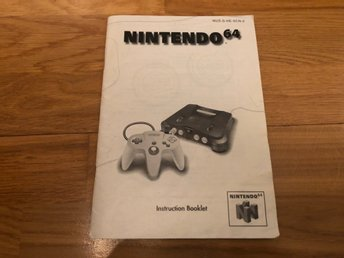 Nintendo 64 SCN manual - N64
