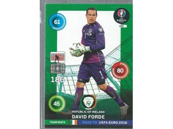 DAVID FORDE - IRELAND- ROAD TO EURO 2016